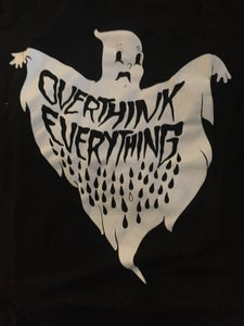 Image of ORIGINAL ANXIETY GHOST T SHIRT PRE-ORDER