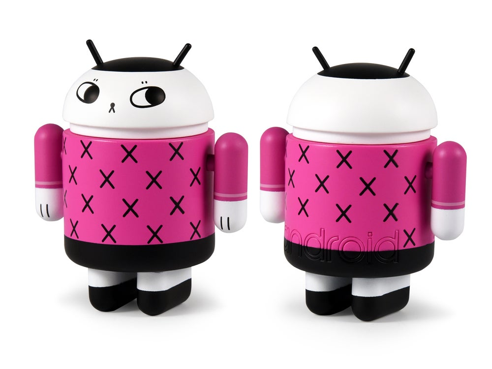 Image of Signed AP Android Series 6 Mini Figures