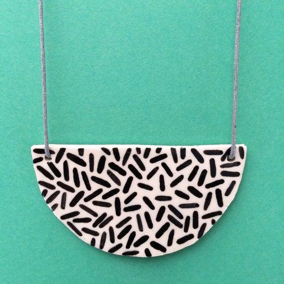 Image of Slab Necklace - Dash
