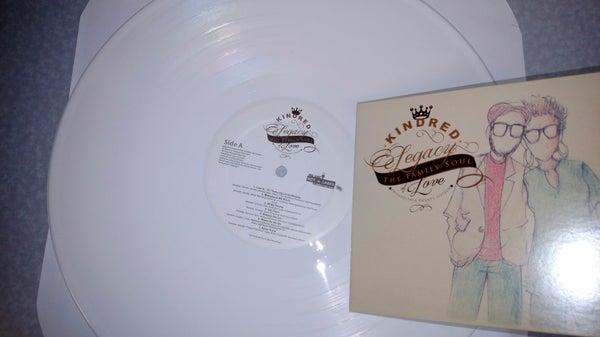 Image of White Vinyl full length LP :Legacy of Love