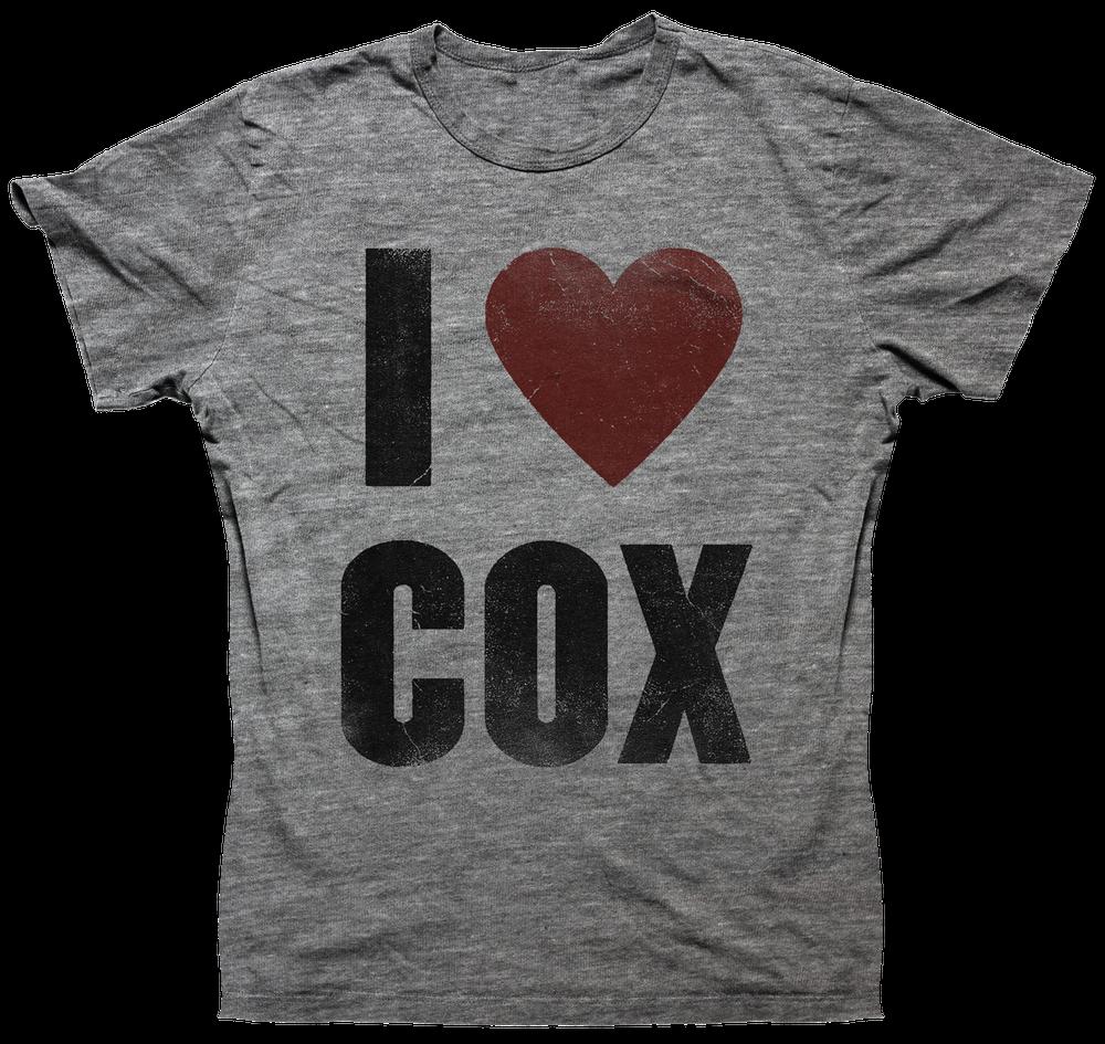 Image of I Heart Cox Unisex - Heather