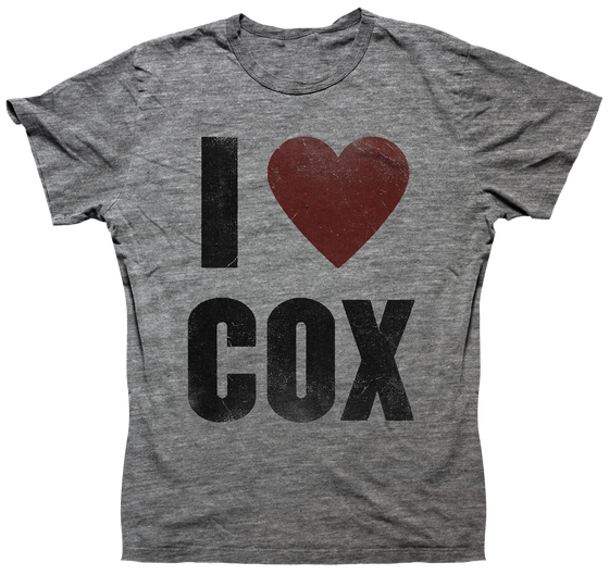 Image of I Heart Cox Unisex - Heather