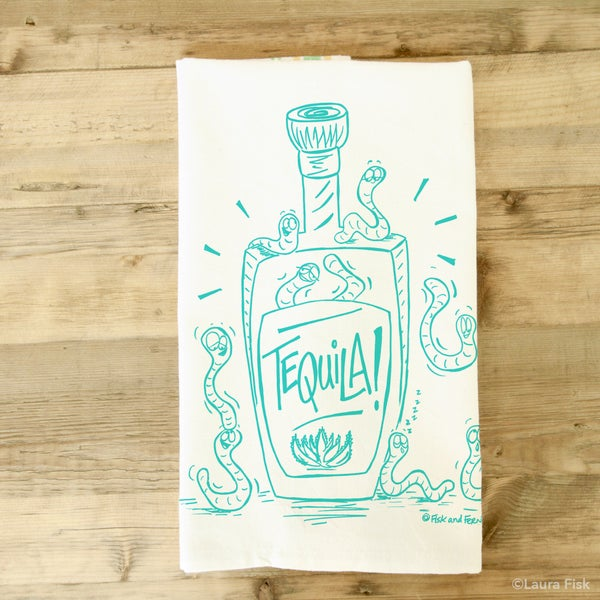 Image of Tequila Tea Towel