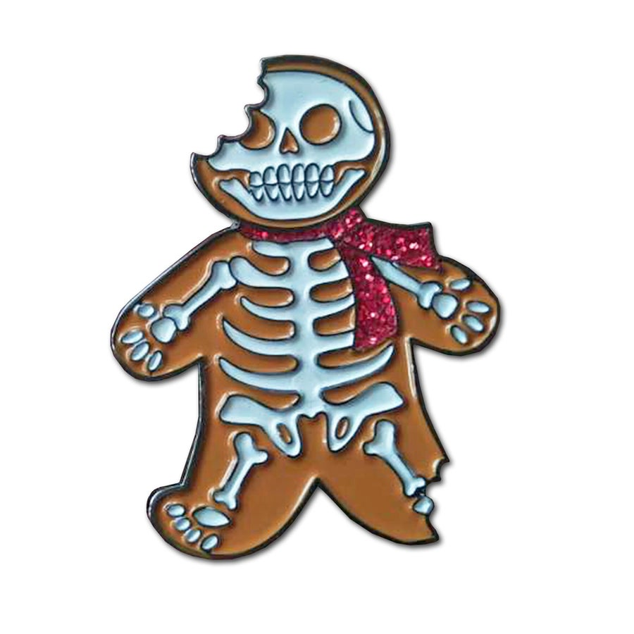 Image of CREEPmas Cookie - Lapel Pin
