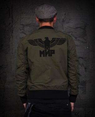 Image of NEW! MIR142 [Black Eagle] Bomber / Flight Jacket
