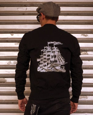 Image of NEW! MIR143 [Ghost Ship] Bomber / Flight Jacket