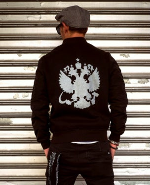 Image of NEW! MIR144 [Imperial Eagle] Bomber Sweatshirt / Jacket