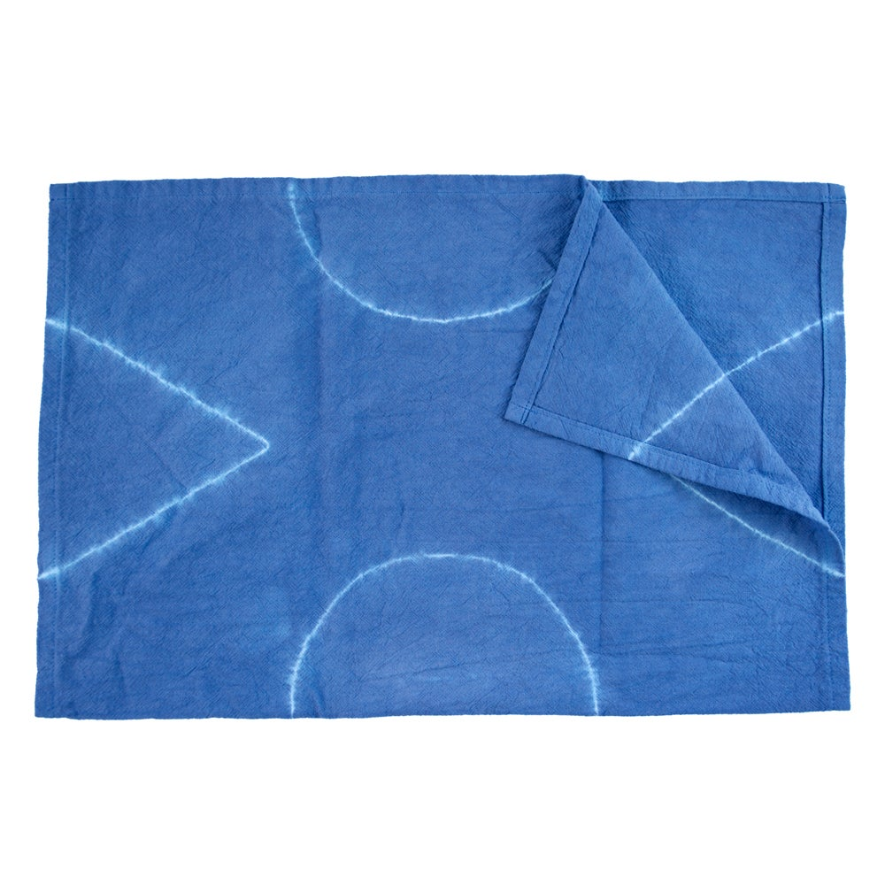 Image of Kitchen Towel - Indigo Blue