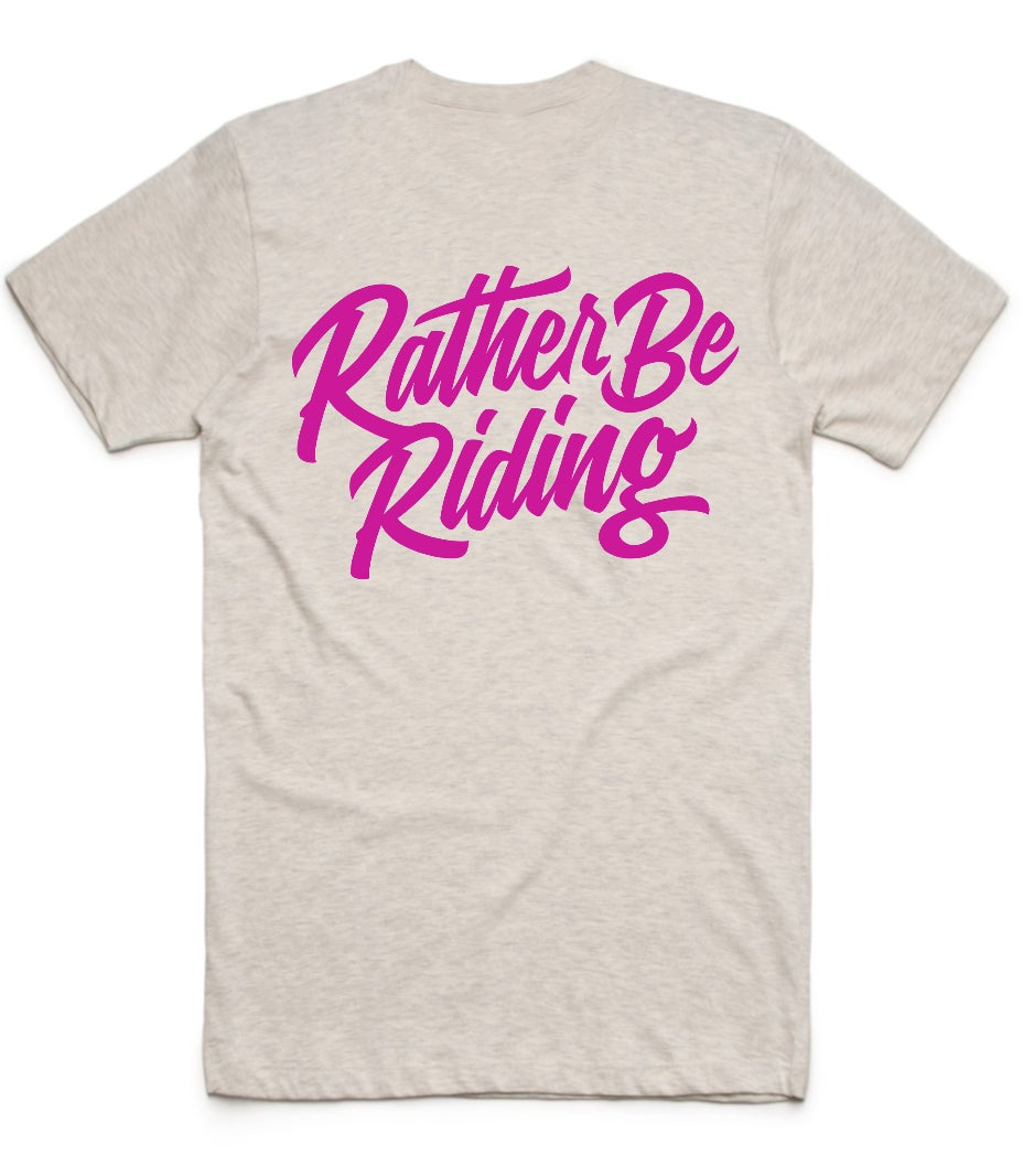 Image of Rather Be Riding - Vintage Tee