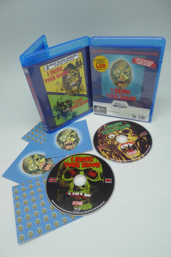 Image of I DRINK YOUR BLOOD - Blu-ray