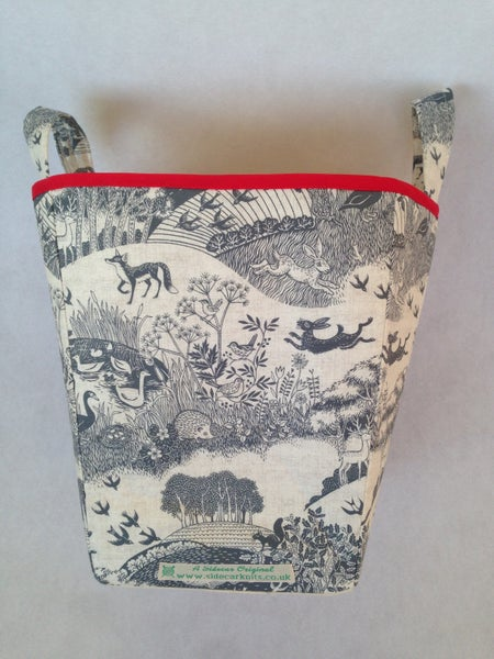 Image of 'Woodland Animals' Box Bag