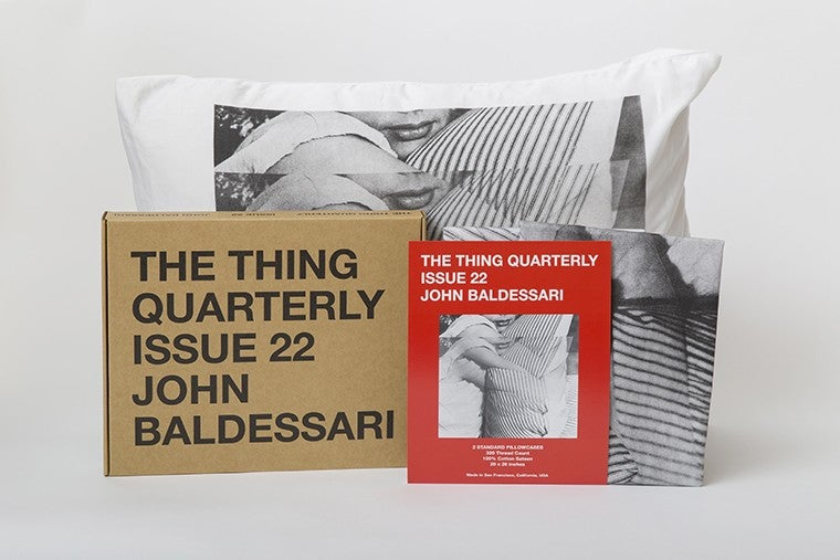 Image of The Thing Quarterly, Issue 22 by John Baldessari.
