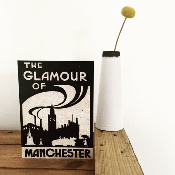 Image of Glamour of Manchester Greetings Card + Envelope