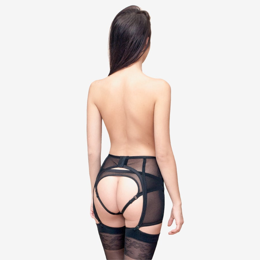 Image of 'Larissa' suspender belt