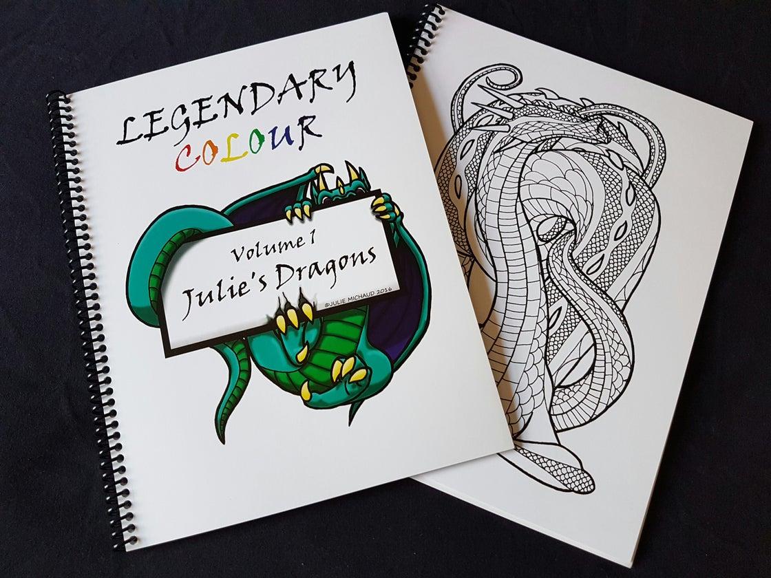 Image of Legendary Colour Vol 1 - Julie's Dragons