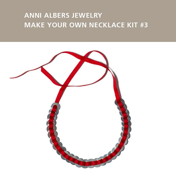 Image of Anni Albers Jewelry: Make Your Own Necklace Kit #3