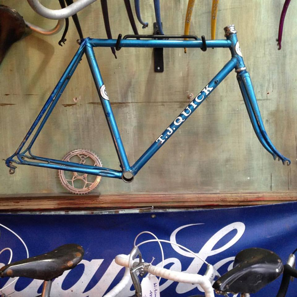 Image of T J Quick junior road frame. Bought by 'Tommy's' Son in Law !
