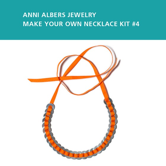 Image of Anni Albers Jewelry: Make Your Own Necklace Kit #4