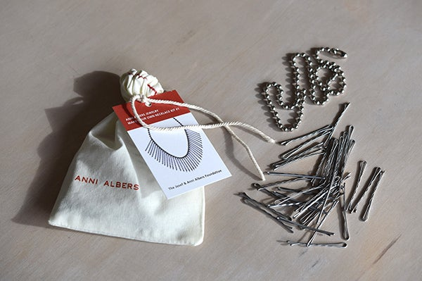 Image of Anni Albers Jewelry: Make Your Own Necklace Kit #1