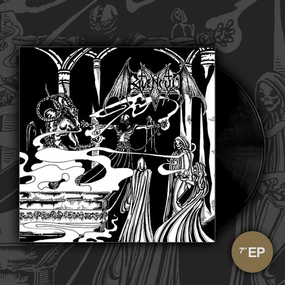 "Image of RAVENCULT / THOU ART LORD Split 7""EP"