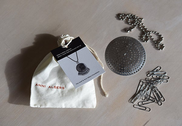 Image of Anni Albers Jewelry: Make Your Own Necklace Kit #2