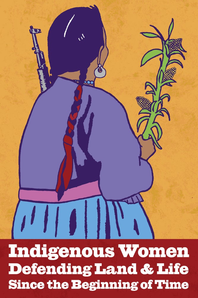 Image of Indigenous Women Defending Land and Life (Digital, 2016)