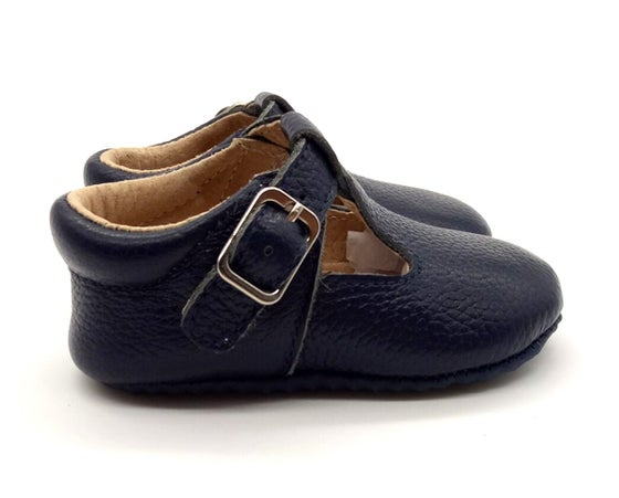 Image of Mary Janes - Navy
