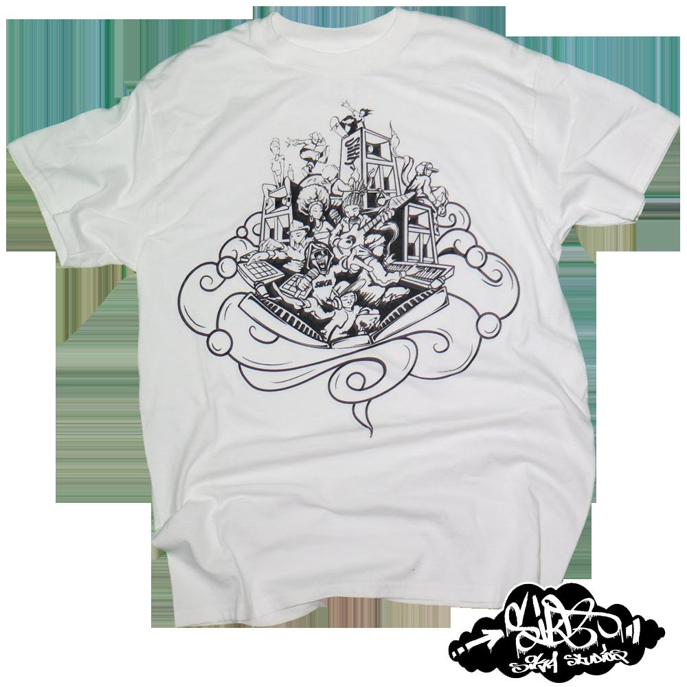 Image of Hip Hop / Music / Life T-shirt