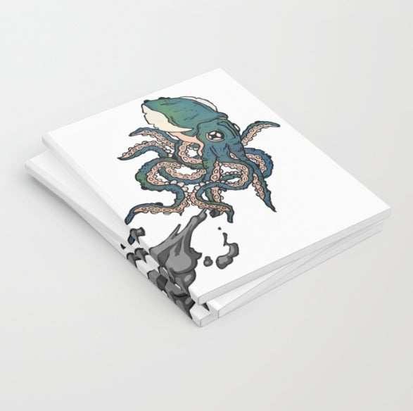 Image of SQUIDLET SKETCH BOOK