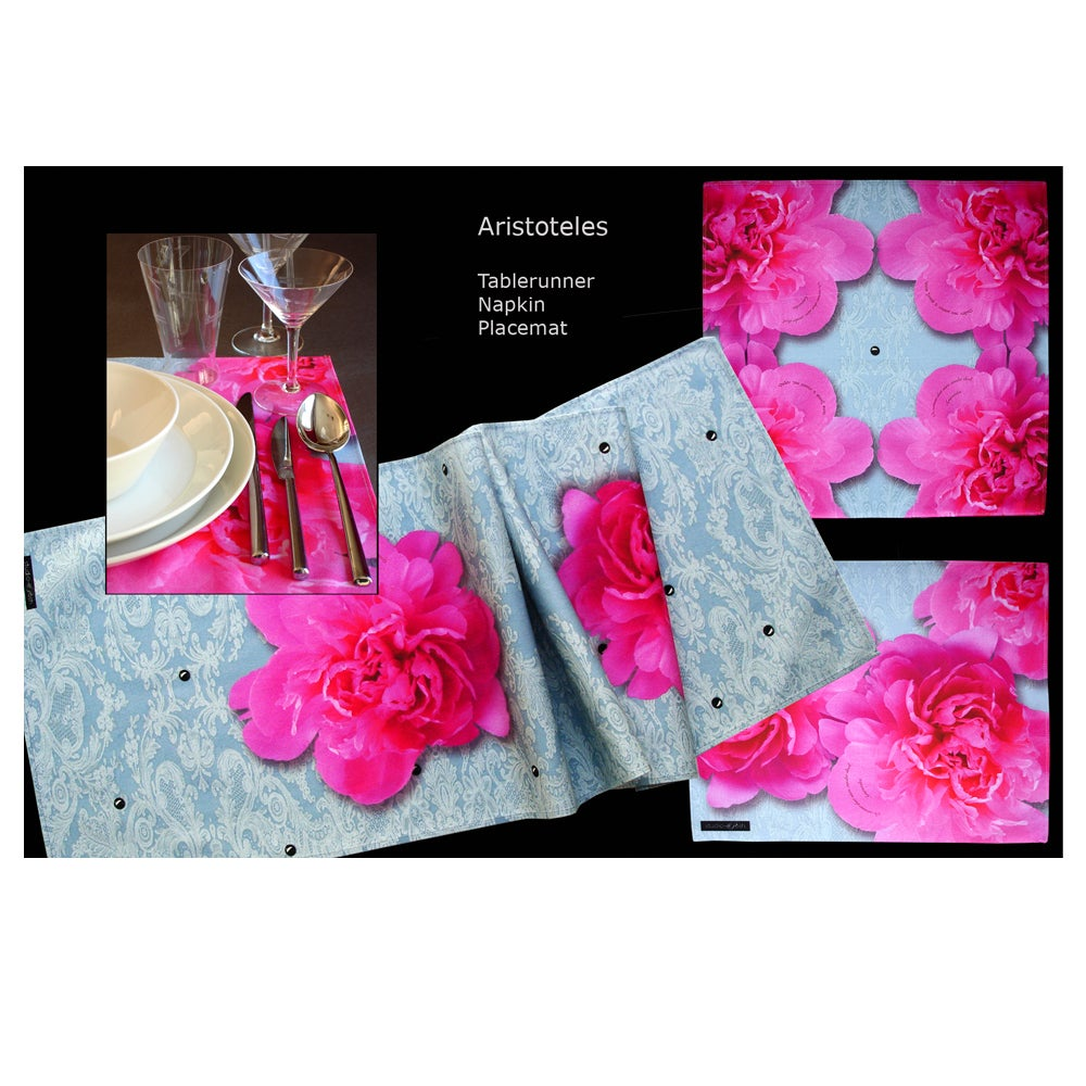 Image of Digitally printed cotton napkin Aristotle