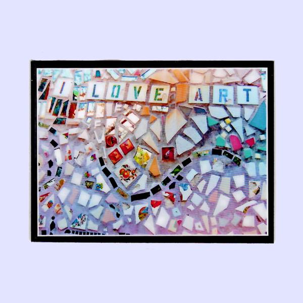 Image of I Love Art Magnet