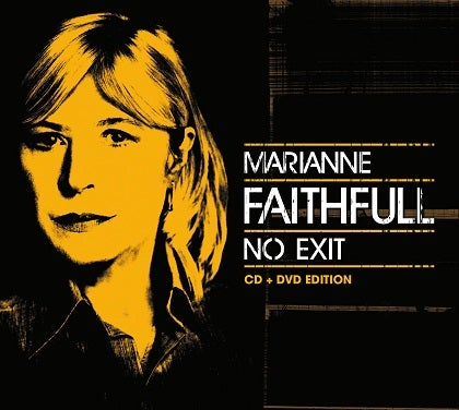 Image of MARIANNE FAITHFULL - No Exit - Digipack CD + DVD