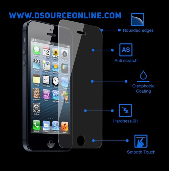 Image of Screen Protector/ Tempered Glass for iPhone5,5s,6,6s,7 & 7 plus