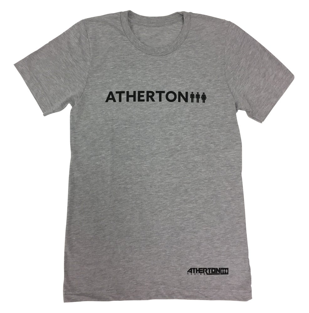 Image of Mens Word Tee - Grey