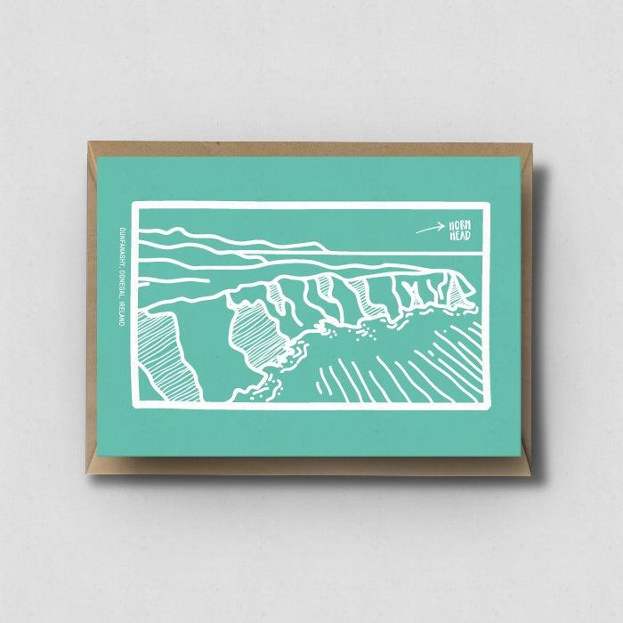 "Image of Postcard ""Horn Head"""