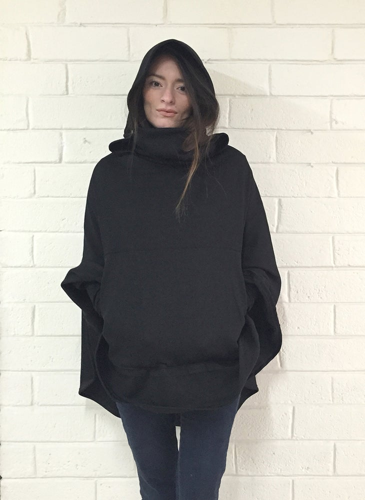 Image of Black Sweatshirt Cappi