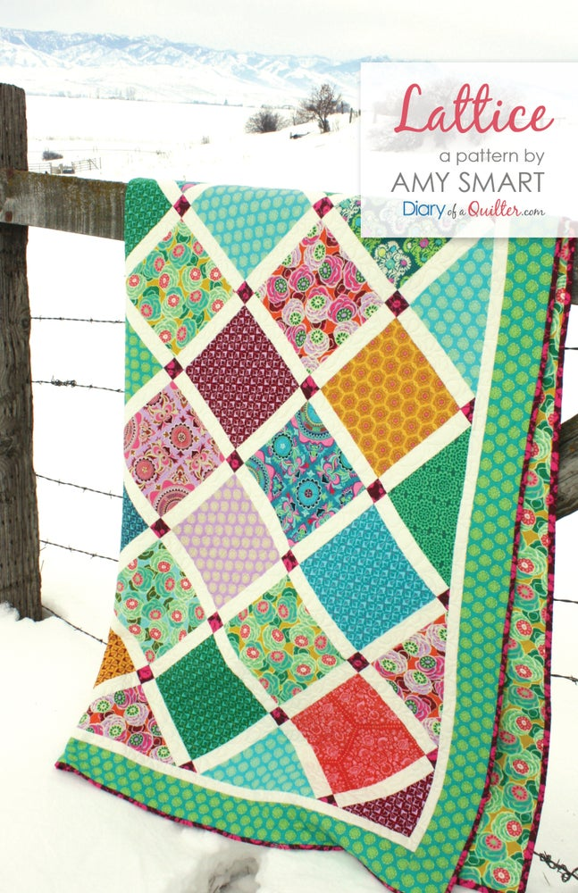 Image of Lattice Quilt pattern PDF