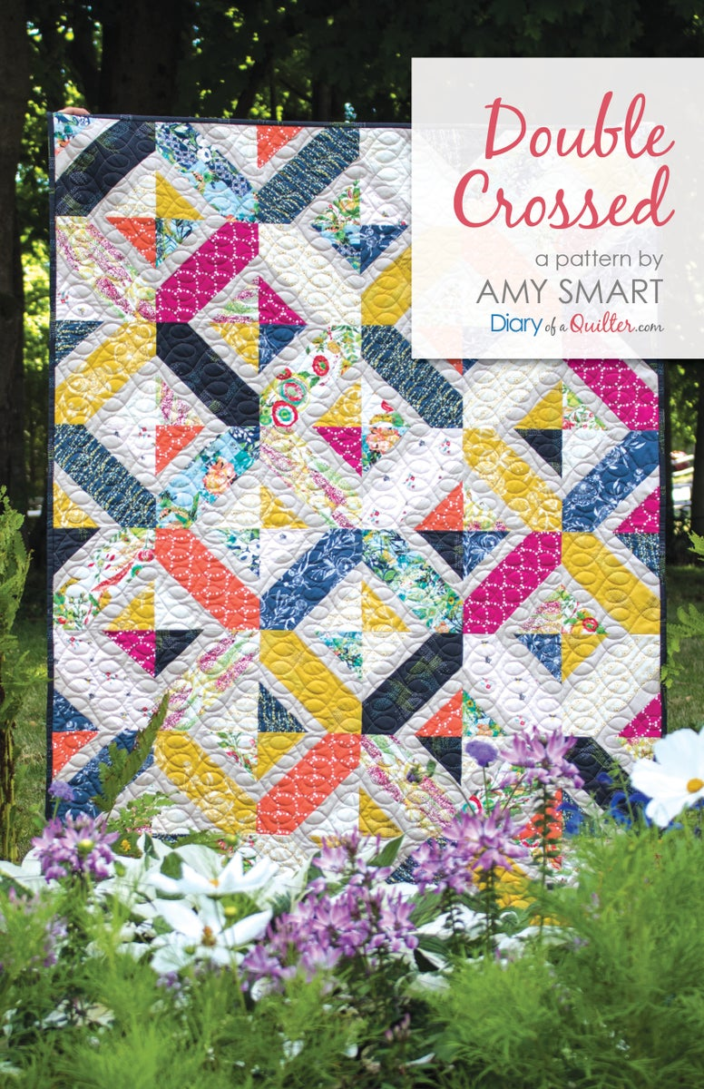 Shop By Amy Smart Double Crossed Quilt Pattern Pdf