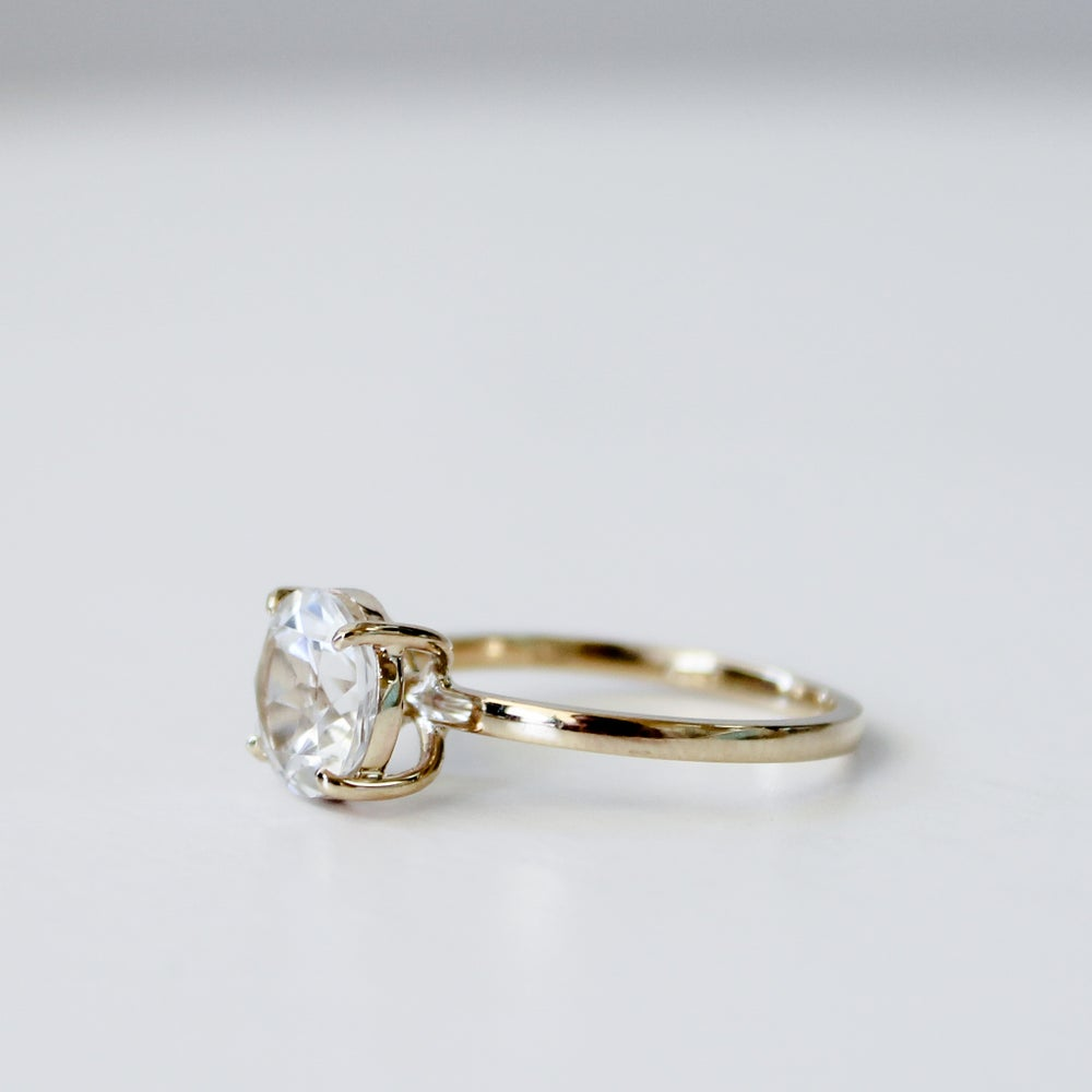 Image of Drew Ring - White Topaz