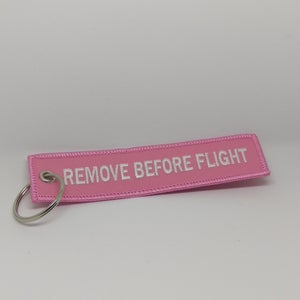 Image of Pink - Remove Before Flight Tag