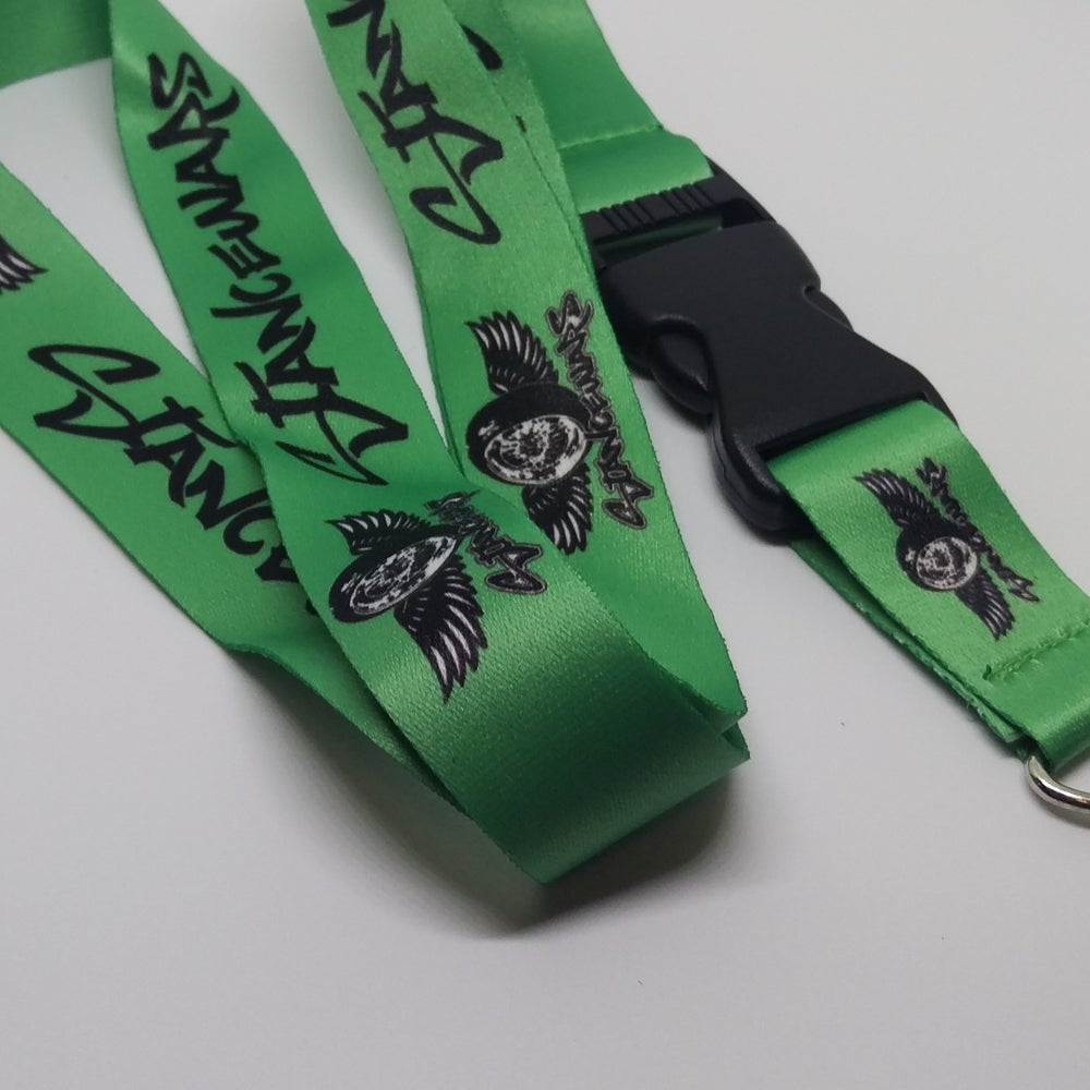 Image of Green - StanceWars Logo Lanyards