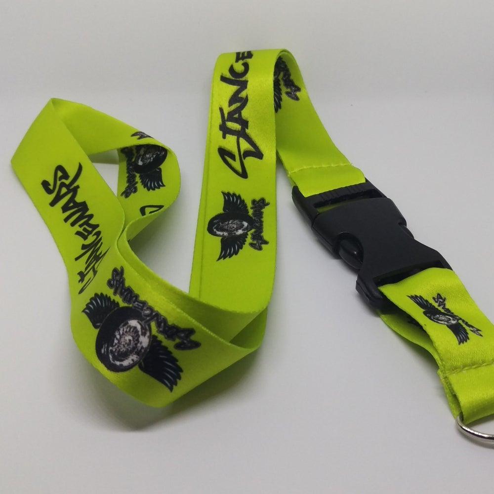 Image of Seahawks Green - StanceWars Logo Lanyards