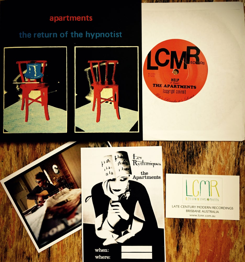 Image of LCMR-011 THE APARTMENTS - the return of the hypnotist 7""