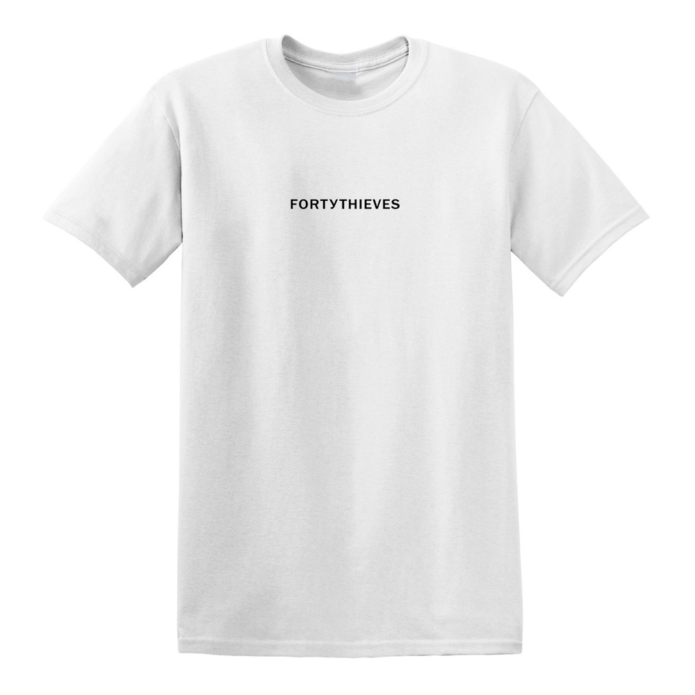 Image of STAPLE T-SHIRT (WHITE/BLACK)