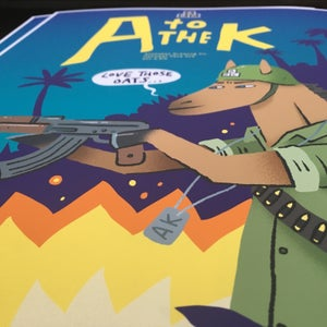 Image of Alphabet Brewing Co. A to the K A3 print