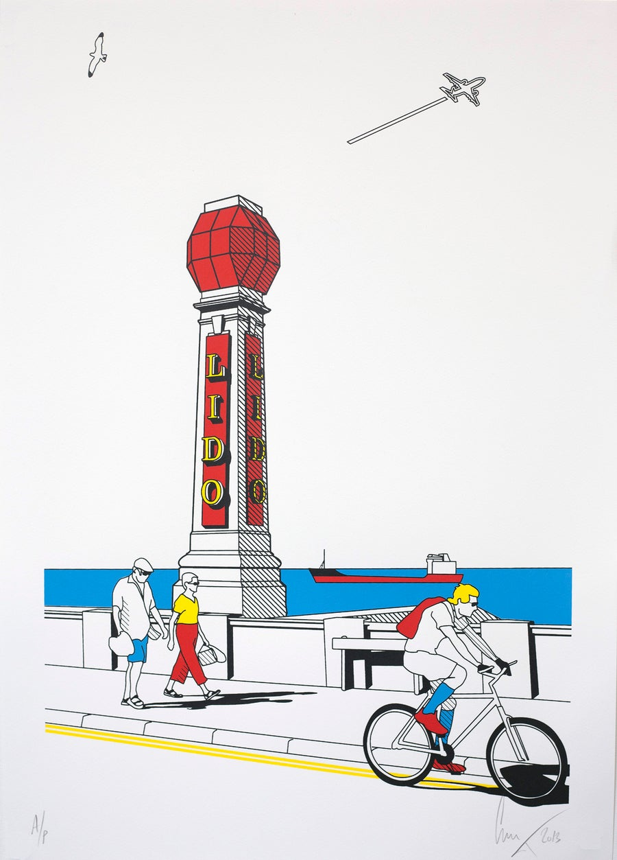 Image of Lido Screen print