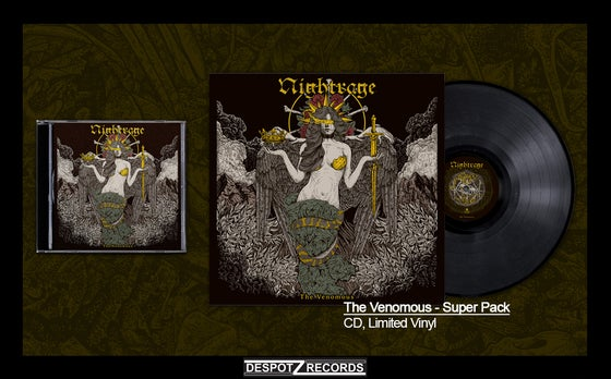 Image of Nightrage - The Venomous Super Pack (CD, Limited Vinyl)
