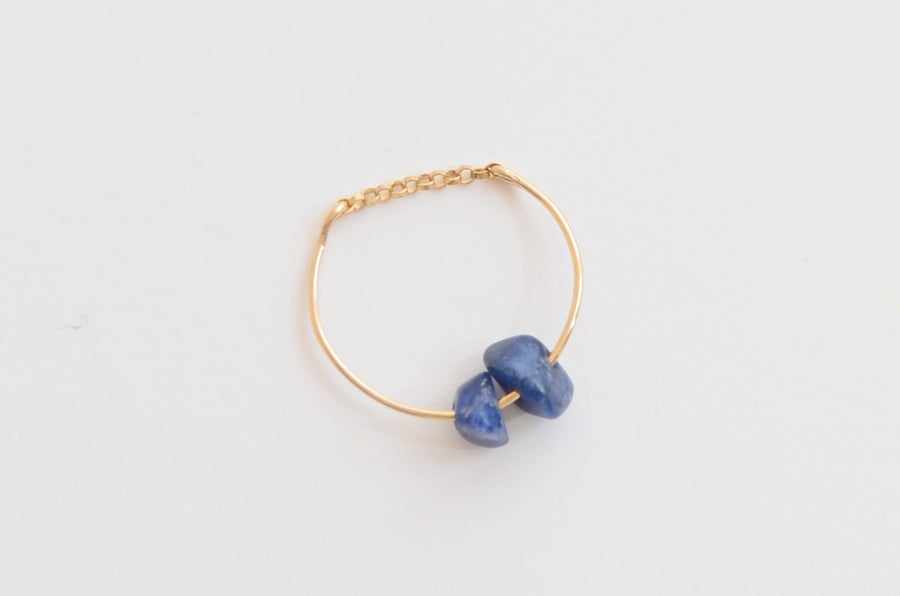 Image of Bague Grand Bleu