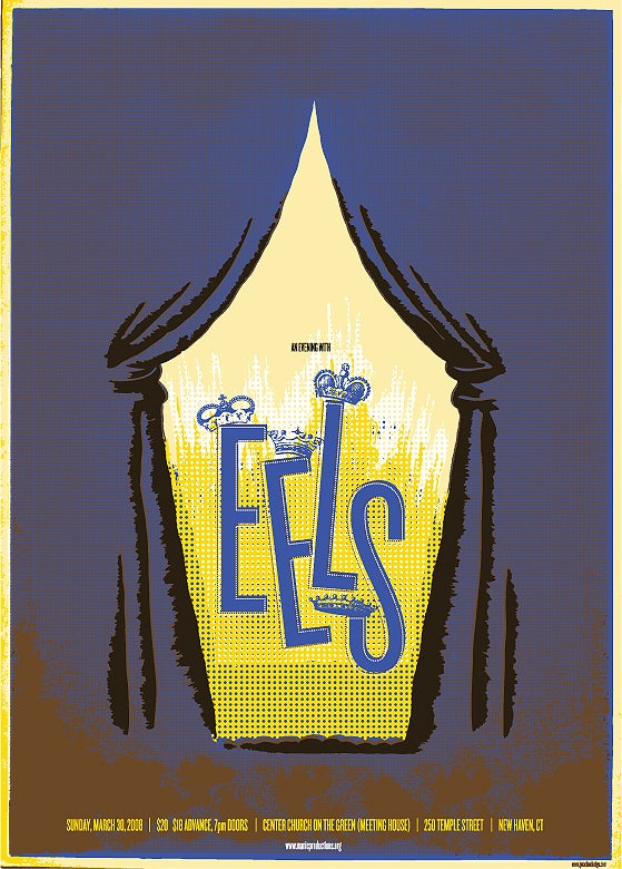 Image of EELS gig poster