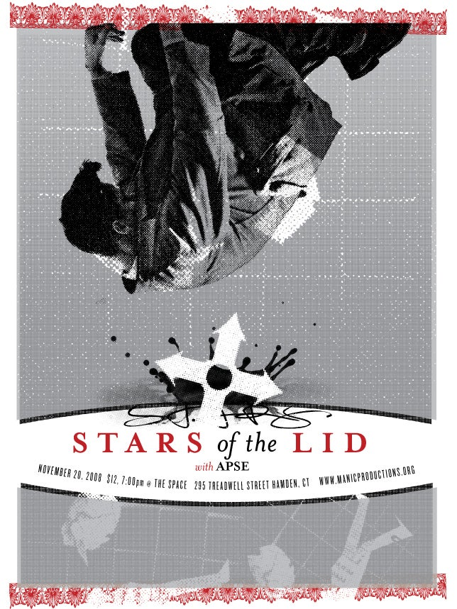Image of Stars of the Lid poster 2008